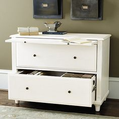 Feminine On The Outside, Our Verona 2 Drawer Lateral File Is All Business On