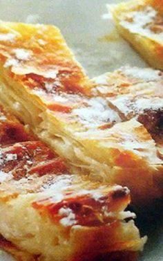 Γαλατόπιτα του Πόντου με φύλλο κρούστας Greek Desserts, Lasagna, French Toast, Food And Drink, Pie, Bread, Cooking, Breakfast, Ethnic Recipes