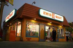 kwik-E-mart. Kwik E Mart, Restaurants, Travel, Stall Signs, Viajes, Restaurant, Destinations, Traveling, Trips