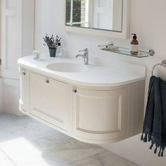 Bathroom Burlington Ideas burlington olive 1340mm curved vanity unit with doors & drawers