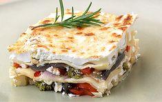 Vegetable lasagne with yogurt - iCookGreek Vegetable Lasagne, Lasagna, Yogurt, Dishes, Vegetables, Ethnic Recipes, Food, Spaghetti, Link