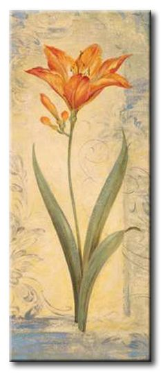 GlA_396_Topaz Skies IV / Cuadro Flores, Flor Vintage