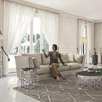 Corner sofa / modular / contemporary / leather