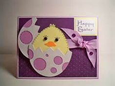 I think this could be implified for the kids to make easter cards - Bing Images