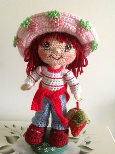 Ravelry: Dutsie's Strawberry Shortcake