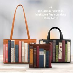 Loving these book bags!