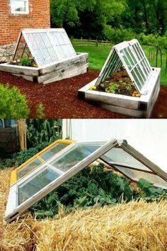 45 DIY Greenhouses with Great Tutorials: Ultimate collection of THE BEST tutorials on how to build amazing DIY greenhouses, hoop tunnels and cold frames! Lots of inspirations to get you started! - A Piece of Rainbow garden shed diy 42 Best DIY Gree Greenhouse Plans, Greenhouse Gardening, Container Gardening, Greenhouse Wedding, Large Greenhouse, Portable Greenhouse, Greenhouse Heaters, Homemade Greenhouse, Potager Garden