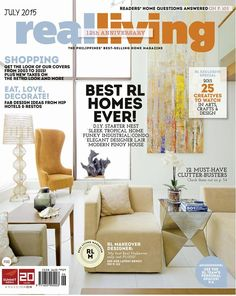 Happy 12th Anniversary, Real Living!Download Real Living on the Real Living App. You could also download the digital copy of the mag by logging on to Summit Newsstand