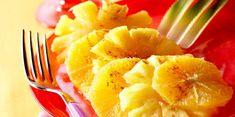 Carpaccio ananas orange
