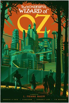 The Wonderful Wizard of Oz Poster Art by Laurent Durieux