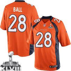 Montee Ball Limited Jersey-80%OFF Nike Montee Ball Limited Jersey at Broncos Shop. (Limited Nike Men's Montee Ball Orange Super Bowl XLVIII Jersey) Denver Broncos Home #28 NFL Easy Returns.