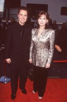 Donny Osmond and Marie Osmond.Was my very first crush.Please check out my website thanks. www.photopix.co.nz