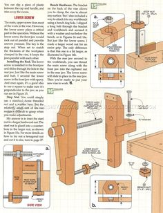 #2256 Bench Vise Plans - Workshop Solutions