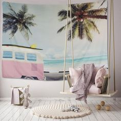 Tapestry – Take me to the Beach – boho tapestries for living rooms, dorm rooms, … – Top Trend – Decor – Life Style Dorm Tapestry, Tapestry Beach, Tapestry Bedroom, Tapestry Wall Hanging, Mandala Tapestry, Wall Hangings, Tapestries Diy, Girls Bedroom, Bedroom Decor