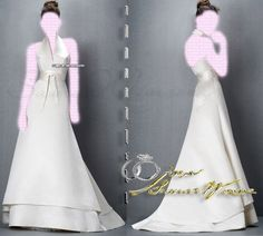 Jesus Peiro , Wedding Dresses Mermaid Bridal Gown , Ivory SimPle , or prom dress , Bridal Wraps