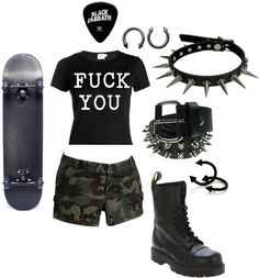 """""""SPIT IT OUT"""" by grungewhore ❤ liked on Polyvore"""