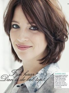 Bob jij of bob ik? Do you bob or bob me ? Short Hair With Layers, Layered Hair, Short Hair Cuts, Medium Hair Styles, Curly Hair Styles, Great Hair, Hairstyles Haircuts, Hair Day, 50 Hair