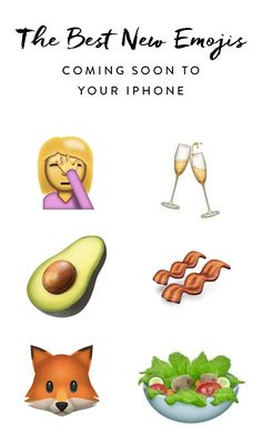 Get excited: 72 brand-new emojis are set to hit your iPhone, all part of Apple's latest update, iOS 10.2.