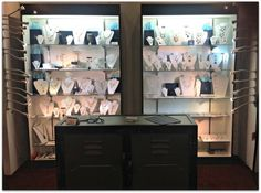 Booth design & layout for fine jewelry tradeshows for Q EVON jewelry.