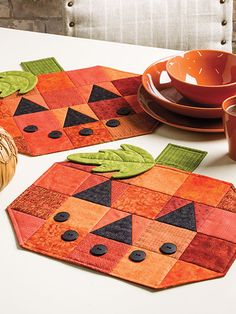 Quilting for Autumn Pumpkins