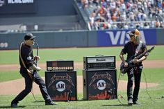 Metallica Performs 'The Star-Spangled Banner' at Giants Game