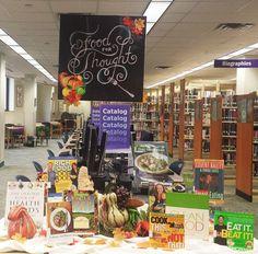 Schimelpfenig Library November 2014 Adult Display  Food For Thought: Eat Smart!