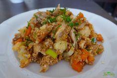 Pohankoto s krůtím masem – JÍME CHYTŘE – Odborné výživové poradenství – Recepty Fried Rice, Fries, Meat, Chicken, Ethnic Recipes, Nasi Goreng, Stir Fry Rice, Cubs