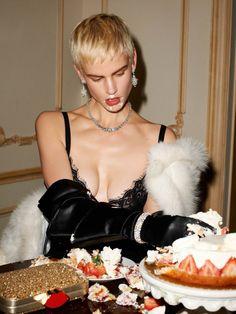 Saskia de Brauw by Terry Richardson for Vogue Paris February 2014 2
