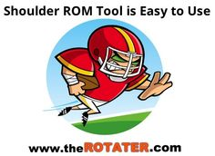 A shoulder ROM tool that's easy to use and works . that's how former Detroit Lions & current Temple University head athletic trainer describes the ROTATER Detroit Lions, Easy To Use, Tools, Shoulder, Disney Characters, Simple, Appliance