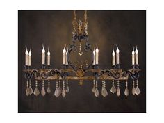 The John Richard Lamps and Lighting Twelve-Light Chandelier is available in the Middletown, MD area from Gladhill Furniture.