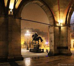 """Piacenza """"i portici del Gotico"""" by M, via Flickr"""