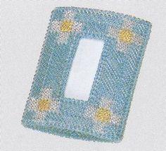 パナミ メタリックヤーン ポケットティッシュケース #4468 カラー ブルー http://ift.tt/27R4zzt #手芸 #手芸用品 #ハンドメイド #もりお