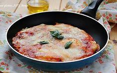 Pizza furba in padella ricetta senza glutine e senza lievitazione.