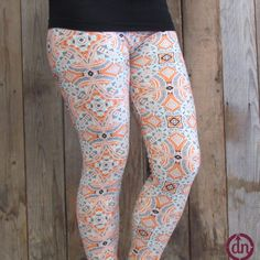 These giraffes on safari leggings are perfect for a person on the move. Whether you are on your own adventure to the local grocery store, playing peek-a-boo at the park, or dancing the night away, you will be one tall glass of fashion water!