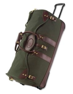 Just found this Rolling Duffle Bag - Battenkill%26%23174%3b Classic Duffle On Wheels -- Orvis on Orvis.com!