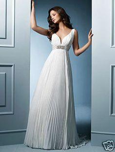 alfredo-angelo-greek-wedding-dress-bridal-gown, absolutely gorgeous