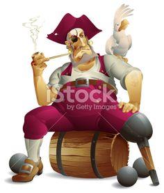 Pirate Royalty Free Stock Vector Art Illustration