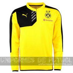 c17825a181404 Venta de uniforme del entrenamiento ML amarillo Borussia Dortmund 2015-16.  uniformesdefutbol · uniformes de futbol ...