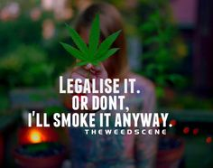 Legalize it   or Don't, I'll smoke it anyways
