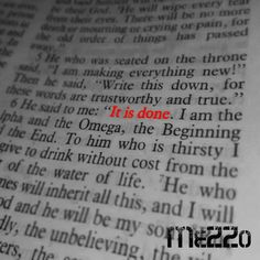 It Is Done by Mezzo distributed by DistroKid and live on iTunes Itunes, Google Play, Crying, Live, Words, Music, Youtube, Check, Musica