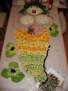 food garnishing ideas