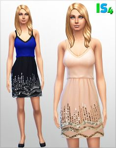 Dress 4_I at Irida Sims4 via Sims 4 Updates