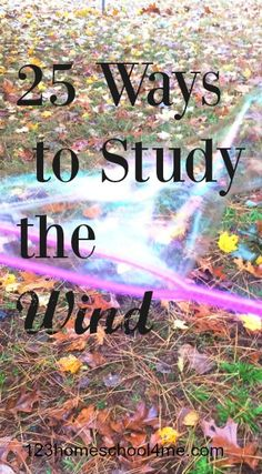 25 ways to study the wind - so many creative kids activities and science experiments for kids from toddler, preschool, kindergarten, 1st grade, 2nd grade, 3rd grade, and 4th grade to learn about and explore the wind. Perfect for spring and summer.