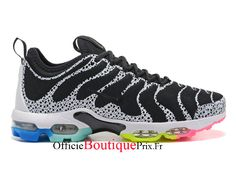 premium selection ecf42 1ce07 Nike Air Max Plus TN Black/White/Rainbow 881560-436 Chaussure Nike Sneaker Pas  Cher Pour Homme/Femme - 881560-436
