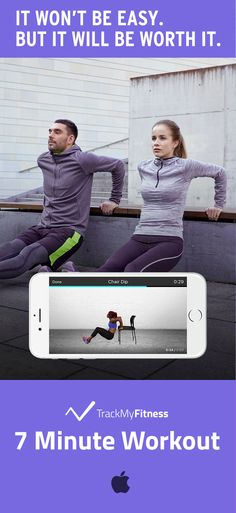 Stop spending your valuable time searching for workouts… Reach your fitness goals faster using 7 Minute Workout's progress and calories burned tracking. Keep it fresh with new exercise routines and workout videos updated weekly! #trackmyfitness