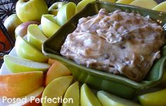 Autumn Apple Brickle Dip