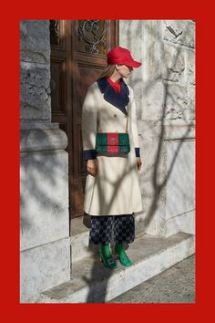 Gucci Pre-Fall 2018 Fashion Show Collection: See the complete Gucci Pre-Fall 2018 collection. Look 62