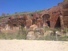 Anzio - Resti della Villa Imperiale di Nerone. The remains of the Imperial Villa of Nero.