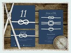 tie the knot wedding invites