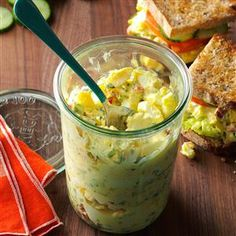 Creamy Egg Salad Recipe from Taste of Home